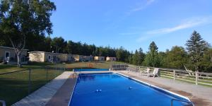 The swimming pool at or near Millstream Cottages