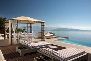 The swimming pool at or close to My Villa Corfu