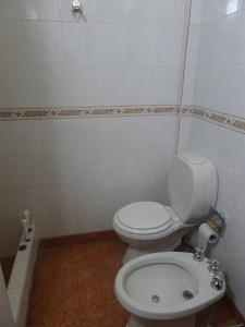 A bathroom at Reposo de Reyes
