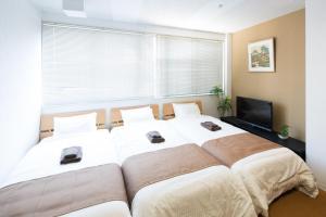 Wa Modernにあるベッド