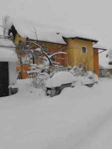 Appartement-Heuberg during the winter