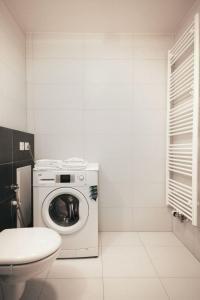 Ένα μπάνιο στο Appartment Harfa