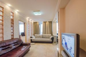 Гостиная зона в Nice Flats  Новый Арбат