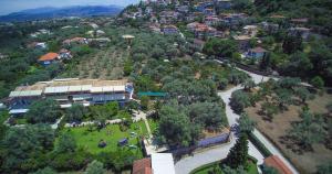 A bird's-eye view of Villa Fenia