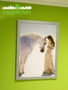 Pet or pets staying with guests at Greengary Budapest apartments