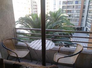 Un balcón o terraza de Apartamento Full Equipado Santiago Centro
