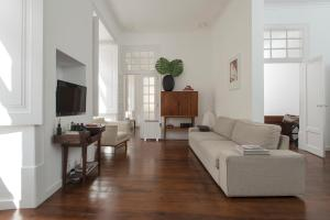 A seating area at Se Vintage Apartment