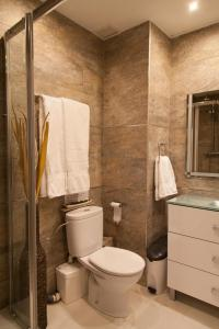 Ein Badezimmer in der Unterkunft Apartamento City