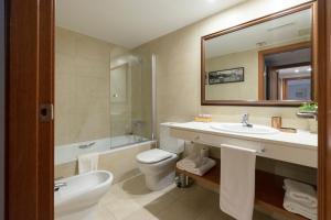 A bathroom at Apartamento Camp Nou 101
