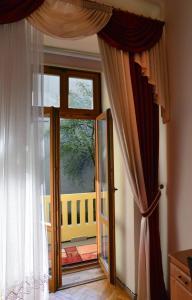 A balcony or terrace at Pokoje Gościnne Vera