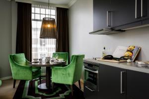 Virtuvė arba virtuvėlė apgyvendinimo įstaigoje Frogner House Apartments - Skovveien 8