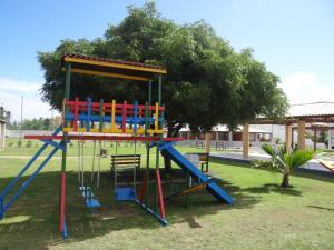 Zona de juegos infantil en Duplex a beira mar