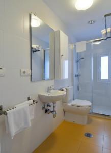 Salle de bains dans l'établissement Alhambra Slowhomes