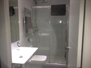 Un baño de Apartamento Sardinero Feygon
