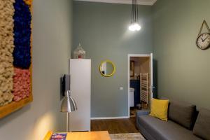 Zona de estar de Cluj Aparthotel