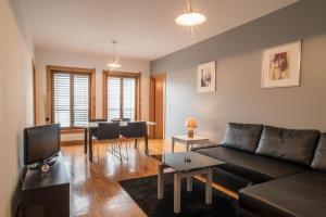 Zona de estar de ARTS IN City Apartments Ponte Nova