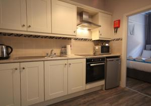 A kitchen or kitchenette at Jervis Apartments Dublin City