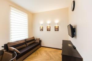 Кът за сядане в Probably The Best Apartment in Lviv