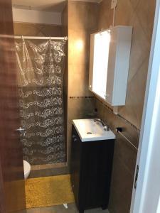 Un baño de Loft Rosario