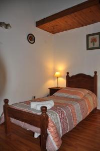 Una cama o camas en una habitación de Las Victorias 2