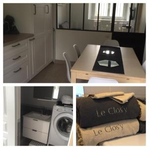 A kitchen or kitchenette at LE CLOS'Y