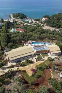 A bird's-eye view of Luxury Villa Aphrodite