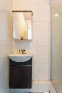 A bathroom at CMG Edouard Vaillant - Pantin IX