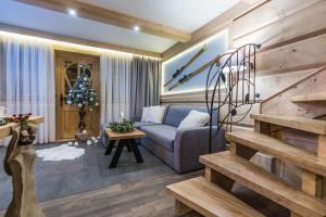 Posezení v ubytování Domek Góralski - Górski Hyr