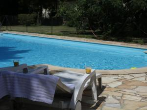 The swimming pool at or near Gite 3