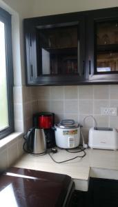 A kitchen or kitchenette at La salette