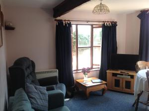 A seating area at New Stable Cottage