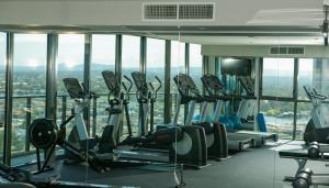 The fitness center and/or fitness facilities at Beach Escape by Hostrelax GCRDQ9P4