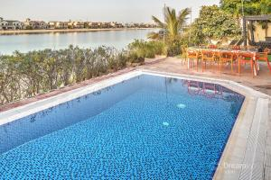 Bazen v nastanitvi oz. blizu nastanitve Dream Inn - Palm Island Retreat Villa