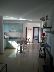 Küche/Küchenzeile in der Unterkunft UNION 64
