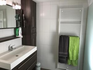 Een badkamer bij Het Meerzicht