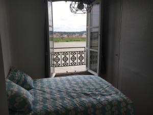 Llit o llits en una habitació de 5 Quai de l'Abbé Grégoire
