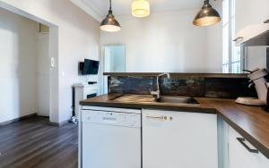 A cozinha ou kitchenette de Gattamua
