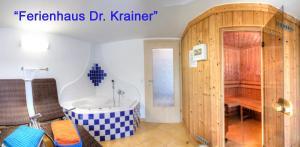 Spa un/vai citas labsajūtas iespējas naktsmītnē Ferienhaus Christina & Haus Dr. Krainer