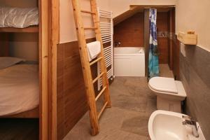 Eydappartamenti 객실 이층 침대