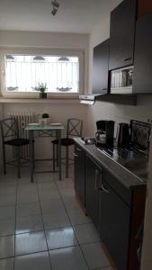 Küche/Küchenzeile in der Unterkunft Apartment Helios