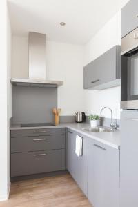 Küche/Küchenzeile in der Unterkunft The Ridge