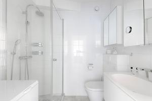 A bathroom at NICE FLAT WITH TERRACE