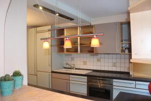 Küche/Küchenzeile in der Unterkunft Ferienhaus Altstadt