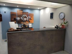 The lobby or reception area at Amazones Villas Apartments