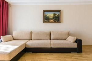 A seating area at 2 rooms apartment