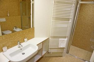 A bathroom at ❤️ Ljubljana's Heart