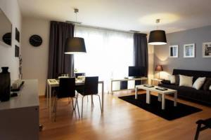 Zona de estar de Apartaments Casanova Bcn