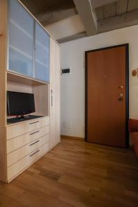 A television and/or entertainment center at Venice Apartment