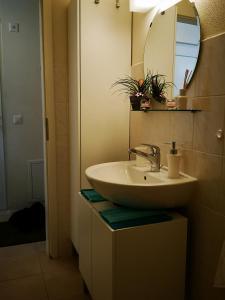 Ein Badezimmer in der Unterkunft Petit Paradisli