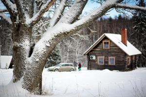 Jaunlidumnieki during the winter